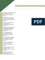 Poezie Adio