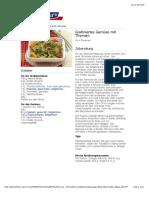bofrost* Rezepte - Gratiniertes Gemüse mit Thymian