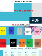 learn french colours ans seasons
