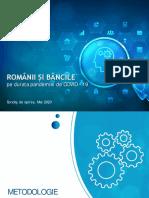 ROMANII SI BANCILE PE DURATA PANDEMIEI DE COVID - 19_Sondaj_mai 2020