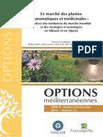 Le marché des plantes aromatiques et médicinales