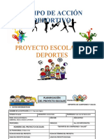 PROYECTO de DEPORTES