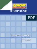 Contab tributária - Livro Unidade I -