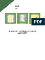 Biology Ib- Ia Osmosis (to Finish)