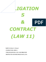 LAW AND OBLIGATION