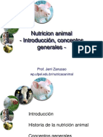 Generalidades de Nutrición 1
