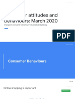 Consumer attitudes and behaviours_ - March 2020