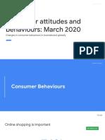 Consumer attitudes and behaviours_ - March 2020