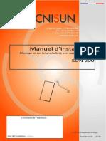 TECNISUN-SUN200-Manuel d'installation-Toiture Supports crochetés-07122010 WEB