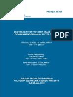 ITS-NonDegree-7503-7405040038-Ekstraksi Fitur Tekstur Image Diatom Dengan Menggunakan Filter Gabor