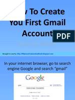 How to Create Your First Gmail Account