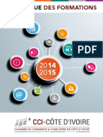 Catalogue des formations 2014-2015