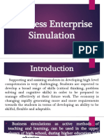 Introduction to Business Simulation