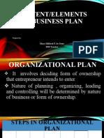 Management & Organizational Planning