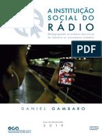 A instituição social do rádio
