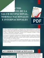 ASPECTOS NORMATIVOS DE LA SALUD OCUPACIONAL- CLASE 2.pptx