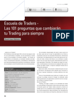 Las 101 preguntas que cambiarán el trading
