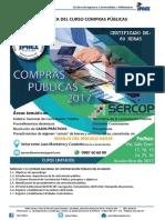 Temario Compras Públicas Nov 2017