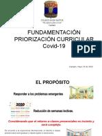 FUNDAMENTOS PRIORIZACIÓN DE OAS