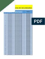 Ficha de Secundaria