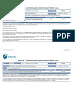 Recomendações da Auditoria Interna 2016 ANAC