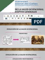 EVOLUCIÓN DE LA SALUD OCUPACIONAL Y CONCEPTOS GENERALES.pptx