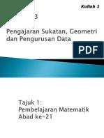 MTES3093_M1_Pembelajaran_Matematik_Abad_ke-21