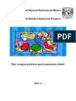 Diez consejos prácticos para la autonomía infantil (1)