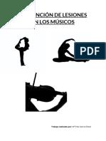 Prevención de lesiones en los músicos