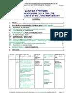 PRSMQ04 - I  - Audit de systèmes de management QSE