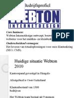 presentatie webton
