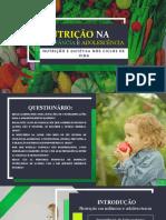 Nutrição na infância e adolescência 100% rx