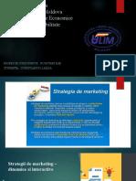 Proiect Strategie de Marketing