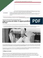 ¿Qué 10 retos de Pablo VI siguen pendientes en el mundo de hoy_.pdf