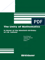 (Progress in Mathematics 244) Michael Atiyah (auth.), Pavel Etingof, Vladimir Retakh, I. M. Singer (eds.)-The Unity of Mathematics_ In Honor of the Ninetieth Birthday of I.M. Gelfand-Birkhäuser Basel