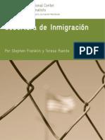 Cobertura de Inmigración. Centro International para Periodistas (ICFJ)