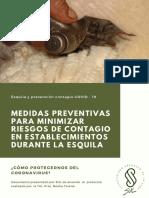 Medidas Preventivas Para Evitar Contagio de Coronavirus en La Esquila