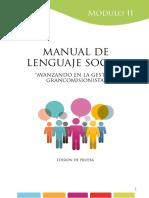 El Lenguaje Social  Ecuador manual