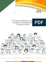 M3 El voluntariado como aporte al desarrollo comunitario  Estudiante