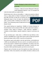 Carta de César Benjamin aos Professores