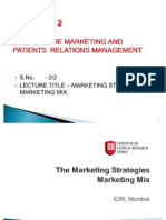 2.the Marketing Mix Strategies