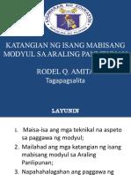 Mabisang-Modyul-PPT