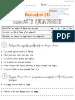 Adjectifs-CE1