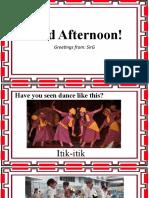 PHIL. FOLK DANCES
