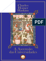 A Ascensão das Universidades (Charles Homer Haskins)
