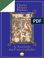 A Ascensão das Universidades (Charles Homer Haskins)