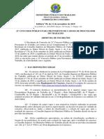 Edital MPT 2020