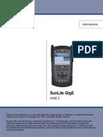 Sunlite GigE2 User Manual