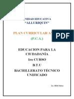 PCA Educacion para la Ciudadania 1ro- 2020