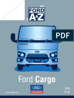 Manual do proprietario Ford Cargo 816s 2016